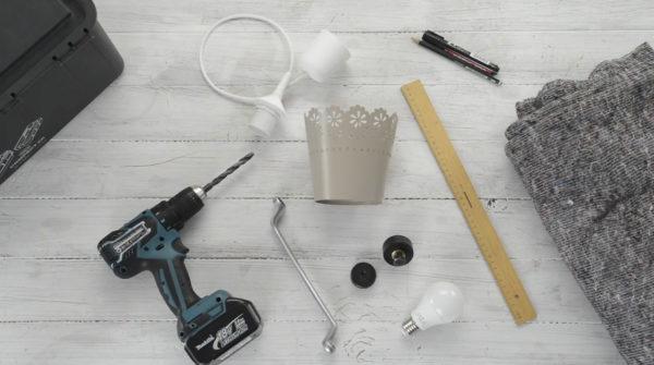 DIY Lampenschirm - Das brauchst Du
