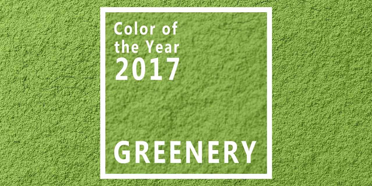 Greenery, die Farbe des Jahres 2017
