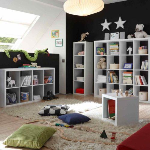 Regale und Raumteiler zugleich